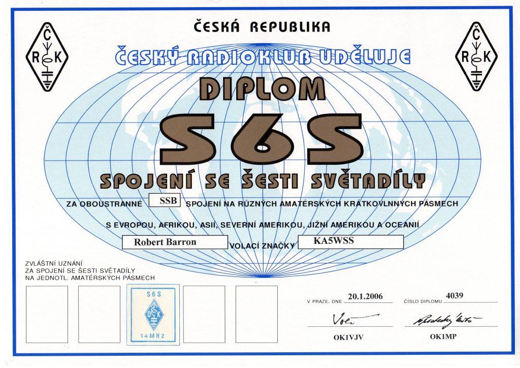 Diplom S6S